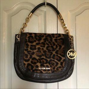 Michael Kors Leopard Crossbody Bag